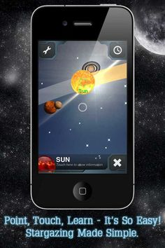 skyview - explore the universe - point the ipad at the sky and will point out the constellations/satellites/planets that you are seeing - brilliant!