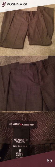 Black dress pants size 0 american