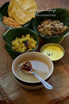 Broken wheat porridge is the most delicious, Kerala style, pure vegetarian, comfort food spread made at home mostly during Thiruvathira. Flowery Wallpaper, How To Double A Recipe, Homemade Food, Comfort Foods, Kerala, Elephants, Coconut, Trees