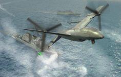 Long-Range Drone will patrol the oceans , - , The Long-Range d...