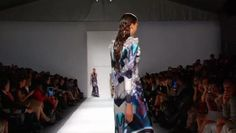 this was a high drama show, young designers FALGUNI AND SHANE PEACOCK SPRING SUMMER 2013 check out the hair too!