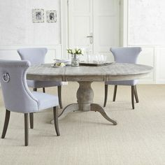 Tisch Libourne aus Eichenholz
