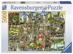 Ravensburger Puzzle 17430 - Skurrile Stadt, 5000-Teilig: Amazon.de: Spielzeug