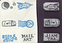Eraser Carvings