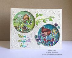 Paper Pawz: Lawn Fawn meets Disney - Tinkerbell and Ariel