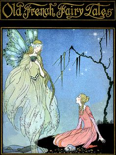 Old French Fairy Tales Deco French Fairy Tales Cover--Virginia Sterrett--