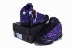 1bad89110ac8 Cheetah Print Air Jordan 13 Leopard Purple Black Jordans Shoes  Purple   Womens  Sneakers