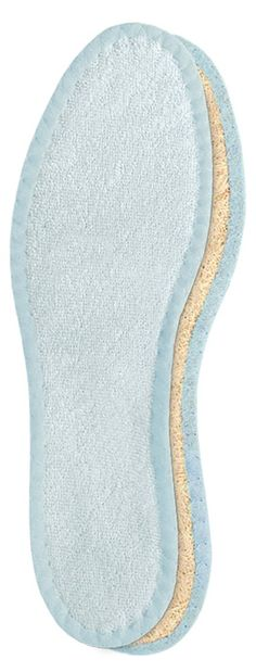 Amazon.com: Pedag 106 Deo-Fresh Washable Insoles with Natural, Durable Cotton Terry and Sisal Fibers, Pale Blue, Men's 12: Health & Personal Care