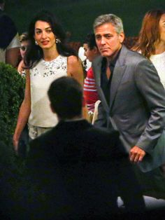 PHOTOS: George and Amal Enjoy Romantic Dinner in Italy http://www.people.com/article/george-clooney-amal-alamuddin-italy-dinner