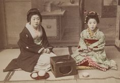 Title: An Informal, Afternoon Tea  Artist: Kusakabe Kimbei  Artist Bio: Japanese, 1841 - 1934  Creation Date: c. 1890s  Process: albumen print