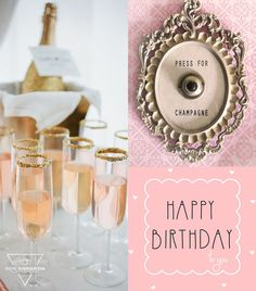 #Birthday #champagne Birthday Greetings, Birthday Wishes, Happy Birthday, Birthday Images For Facebook, Im Happy, Champagne, Lily, Celebration, Christmas