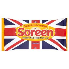 Soreen Fruity Malt Loaf Large - Union Jack