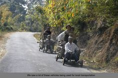 Farmers in Aizawl,Mizoram return home after the day's work