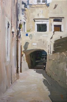 Marc Dalessio oil painting