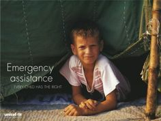 """UNICEF poster cicra 1999 - Part of the """"Convention on the Rights of the Child"""" series - 10th Anniversary."""