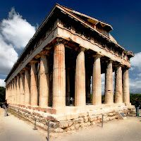 Greek Temple...the Temple of Hephaestus in Athens' Ancient Agora