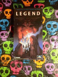 Legend VHS 1986/1991 Tom Cruise Tim Curry by HECTORSVINTAGEVAULT