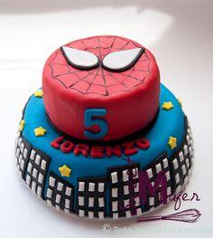 Torta Spiderman 4 Años Agustín Picture cakepins.com