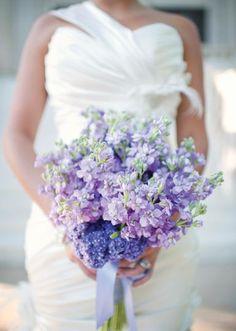 Lovely lavender bouquet by Trochta's Flowers & Garden Center