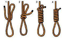 Ya tienes como hacer la soga para tu suicidio