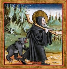 The Hermit and the Bear St. Gallen, Stiftsbibliothek, Cod. Sang. 357