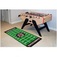 South Carolina Gamecocks Football Field Runner Area Rug Floor Mat #Gamecocks #JockUniversity #GoCocks #SouthCarolinaGamecocks