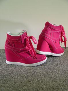Laarsjes Met Sleehakken Roze