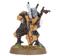 New Pathfinders are a lot more dynamic, being plastic with a lot more parts, as opposed to the old pewter ones. #Tau #40k