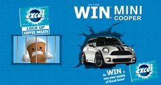 Win a Mini Cooper with Excel Gum