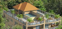 roof top pool floor plan - Google Search