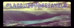 Suivez moi sur #lacdubourgetavelo