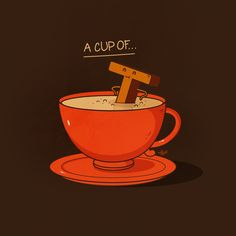 Nabhan Abdullatif or Nabs is an Omani graphic artist and illustrator, mainly into conceptual illustration and vector art. He has a nice portfolio of funny - posted under by Fribly Editorial Tea Puns, Visual Puns, Punny Puns, Funny Doodles, Tea Quotes, Hair Quotes, Food Puns, Funny Illustration, Humor Grafico