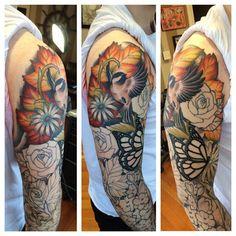 Progress with Mike's sleeve :) #tat #tattoo #tattoos #tattooed #tattooart #tattoolove #tattooartists #tattooedguys #inked #ink #sleeve #nature #naturetattoos #naturesleeve #birds #birdtattoos #flowers #flowertattoos #floral #floraltattoos #lynntattoos #mutinypdx #pdx #pdxart #portland #pdxtattoos #portlandart #pdxtattooers #portlandtattoos #portlandtattooers @mutinypdx