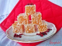 Almazselé, gumicukor házilag Hungarian Recipes, Christmas Sweets, Macaron, Sweet Life, Nutella, Birthday Candles, Fudge, Food And Drink, Dessert Recipes