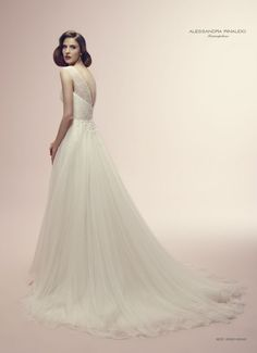 abito da sposa Alessandra Rinaudo 2014