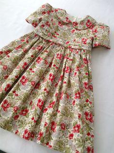 Traditional English summer dress