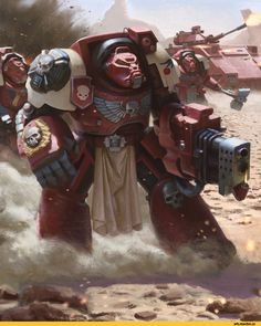 Warhammer 40000,warhammer40000, warhammer40k, warhammer 40k, ваха, сорокотысячник,фэндомы,Blood Ravens,Space Marine,Adeptus Astartes,Imperium,Империум,Terminator Squad,Phuong Pham Ngoc,Predator (wh 40000)
