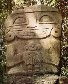 san agustin colombia - Buscar con Google Ancient Aliens, Ancient History, Middle Eastern Art, Ecuador, Sumerian, Stone Carving, Ancient Civilizations, African Art, Archaeology