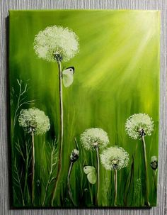 Lendário Você pode encontrar o Best Of Löwenzahn on-line des Fair Masters. Você pode encontrar o Best Of Löwenzahn . Dandelion Painting, Simple Oil Painting, Dandelion Oil, Body Painting, Easy Paintings, Flower Paintings, Oil Paintings, Pictures To Paint, Acrylic Art