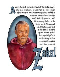 Charmed Series Book of Shadows: Zakal » Metaphysic Study