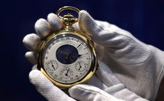 """The Henry Graves Supercomplication"" – a $17 Million Pocket Watch - A staff…"