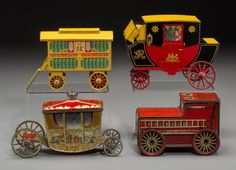I just discovered this Four Carriage Related Biscuit Tins, first half 2 on LiveAuctioneers and wanted to share it with you: www.liveauctioneers.com/item/50256746