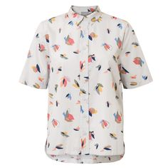 Buy the Collage Print Shirt at Oliver Bonas. Enjoy free worldwide standard delivery for orders over £50.