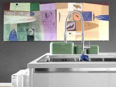 Details of us: Abbinamenti cromatici: quadri & accessori cucina