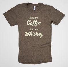 #TshirtTuesday : #Coffee T-shirts for #CoffeeLovers #tshirts #design #drinkcoffee #drinkwhiskey #irishcoffee