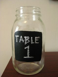 Perfect! I can so DIY this for the tables!