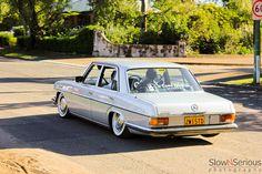 Lowered Mercedes