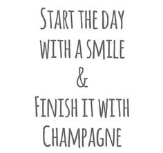 Champagne. This is a great motto