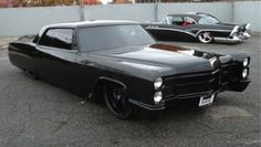 MURDERED OUT Cadillac Coupe Deville 1965 Lowrider