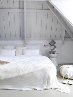 total white bedroom